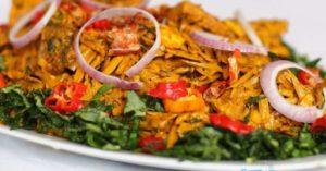 Favourite African (Igbo) Cuisine.