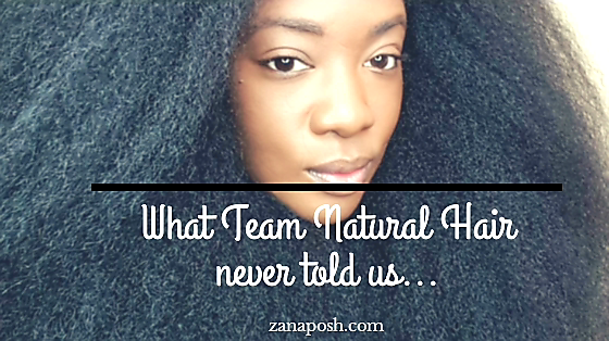 What they never told you about Natural Hair