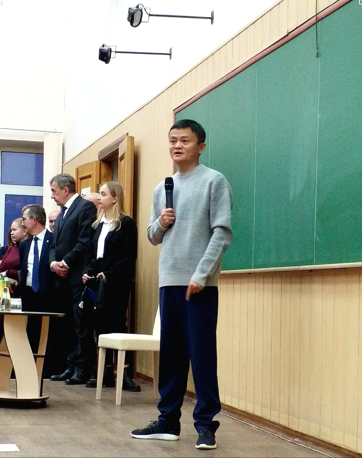 Jack Ma -Alibaba CEO in Kharkov Uk