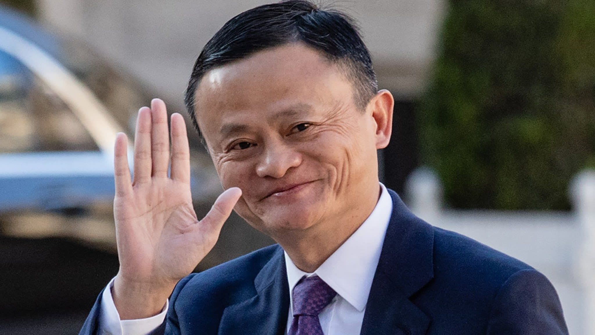 Jack Ma(Alibaba CEO) In My School